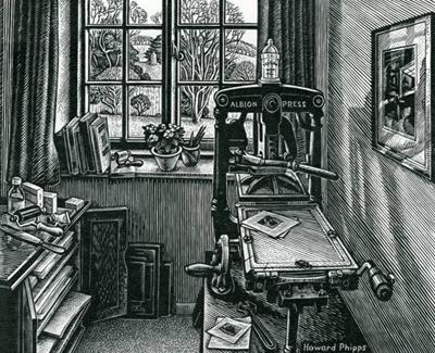 The Print Room by Howard Phipps