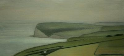 South Downs Near Birling Gap by David Stubbs
