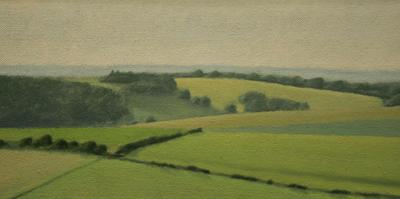 Sussex Downs Near East Dean by David Stubbs