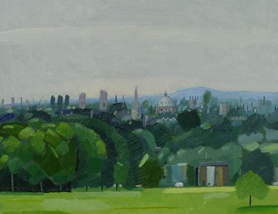 Oxford From South Parks #1 by Andrew Walton