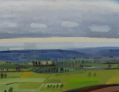 Otmoor From Beckley by Andrew Walton