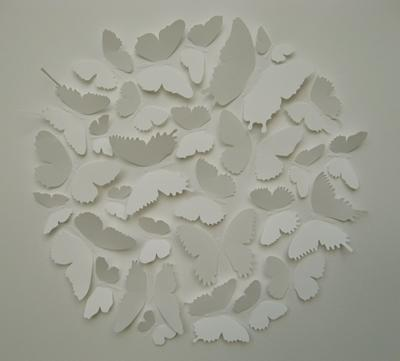 Butterfly Ball (White) by Joseph Silcott