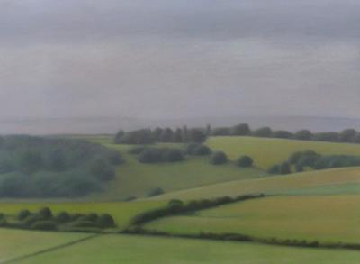 South Downs Near East Dean by David Stubbs