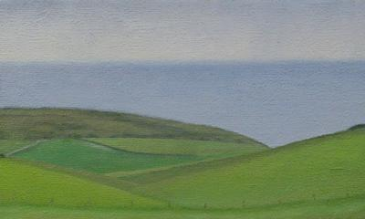 Sussex Downs From Warren Hill by David Stubbs