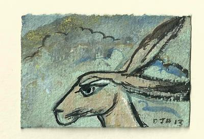 Miniatures Series: Hare by David Hollington