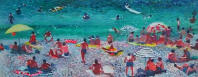 Beach At Antibes by Will Smith