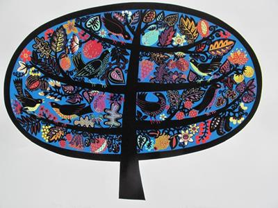 Tree Of Life by Linda Farquharson