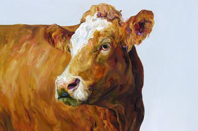 Reydon Cow Turning by Jelly Green