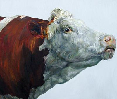 Benhall Cow 1 by Jelly Green