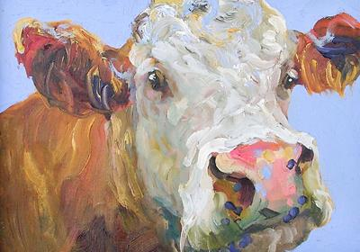 Southwold Cow 18 by Jelly Green
