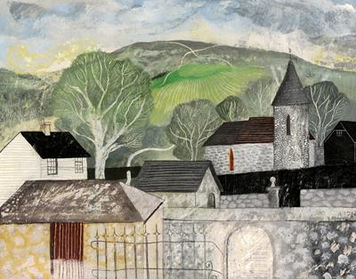 Chalk Paths, View From Southease by Jonathan Christie - The Rowley