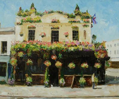 The Churchill Arms by Marcel Gatteaux