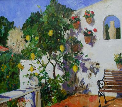 Lemon Tree, Moraira, Spain by Marcel Gatteaux