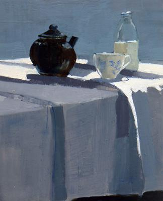 Grey Tea #2 by Susan Ashworth